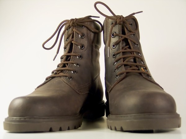 Shoe Polish Has White Spots