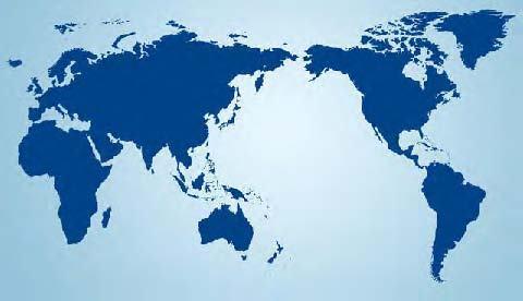 World Globe Flat Map